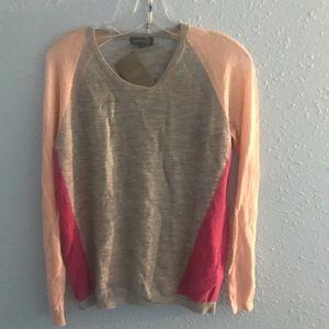 Cashmere metallic sweater